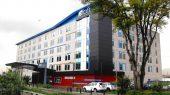 Hotel Aloft. Muros y cielo rasos