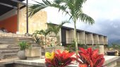 Hotel Tangara. Muros y cielo rasos